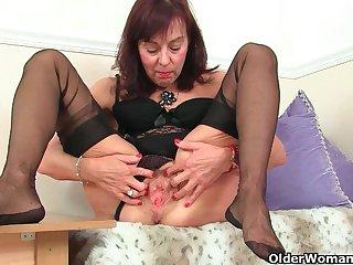 An older woman mechanism fun accouterment 174