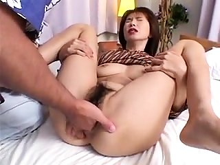 Hairy Aussie amateur fingering pussy outdoors