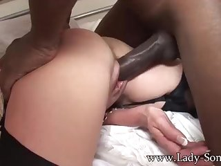 Brit COUGAR gets poked by BIG BLACK COCK space fully Cuck witnesses