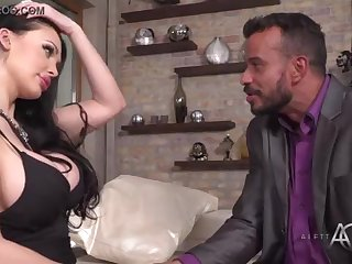 Aletta Ocean takes crimson in the butt - alettAOceanLive