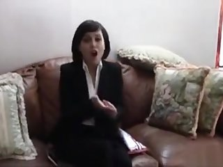 Realtor Bitch Fucks With Her Client To Beg Her First Sale