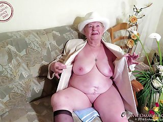 Compilation of more mature plus granny videos cut together regarding one