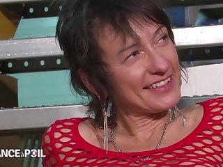 Französisch Reife Maman Anal